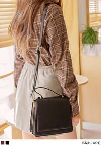 VINCENT SQUARE LEATHER MINI BAG