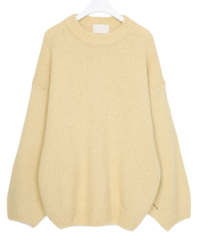 Wide wool knit