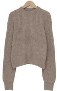 Clue lambs wool knit_C (size : free)