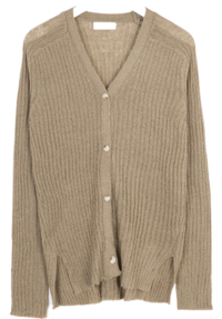 warm v-neck golgi cardigan