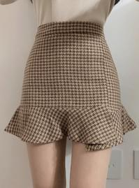 Paris Check Unfried Skirt