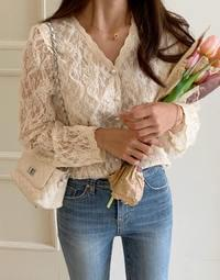 Pearl Pearl Race Blouse