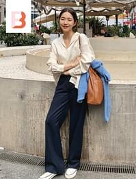 Mer loose-fit slacks