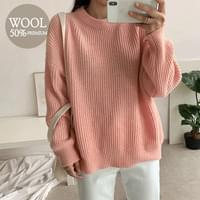Eden Wool Round Knit