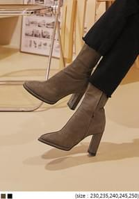 BERTO SUEDE ANKLE BOOTS