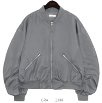 JERRIS SHIRRING BOMBER JUMPER