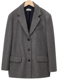 Last tailored wool jacket (size : free)