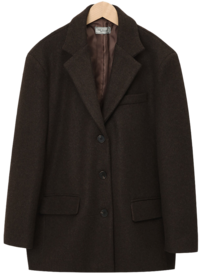 Last tailored wool jacket (울 10%) (size : free)