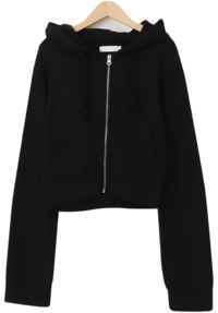 Vers mini hood zip up_J (size : free)