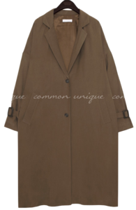 OSLO CUPRA OVER FIT TRENCH COAT 大衣外套