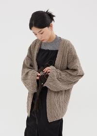 Twist wrap cardigan