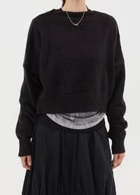 Cropped Soft Knit