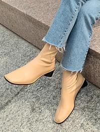 Among stitch ankle boots_C (size : 225,230,235,240,245,250)