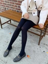 Brushed slim tights