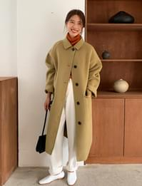 Butter handmade mac coat_C (울 90%) (size : free)