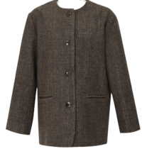 Bilin herringbone wool jacket_J (size : free)