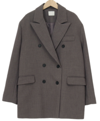 Carroll boxy double jacket_C (size : free)