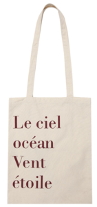 Ciel lettering eco bag_C