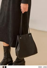 GERRY 2 WAY BUCKET LEATHER BAG