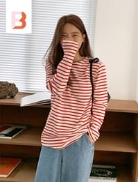 Must basic stripe T (size : free)