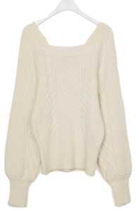 Square Apple Knit