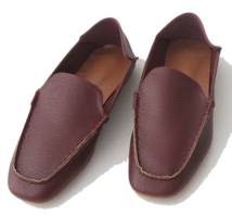 comfortable folded loafer