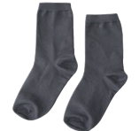 color tension ankle socks
