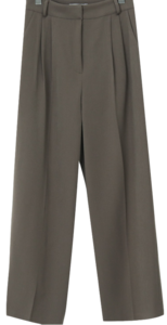 Mood Wide Pin Tuck Slacks