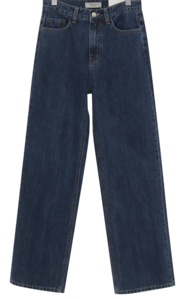 MORE JEAN_wide (size : S,M,L) 牛仔褲