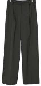 Crete loose pin-tuck slacks_J