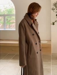 Classic Double Button Oolong Coat-ct