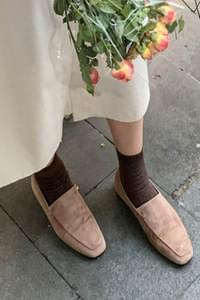 Lohan suede loafers