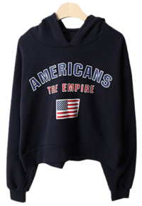 American Crop Hooded Tea