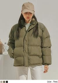 High Neck Wellon Padding Puffer Jacket