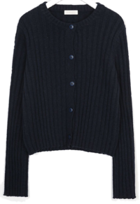 moment golgi wool cardigan