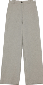 unique pintuck wide slacks (s, m)