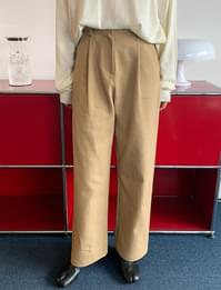 Ait pintuck wide pants_C