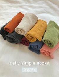 Daily simple sox _Y