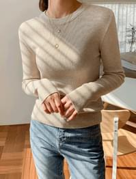 soft wool basic knit