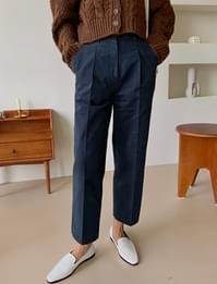 Noon crop cotton pants_A (size : S,M)
