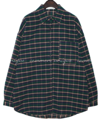 SNUG COLOR CHECK LOOSE FIT SHIRTS