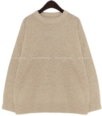 Lambswool Blend Knit Top