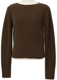 Henz wool boat-neck knit_A (울 50%,캐시미어 5%) (size : free)