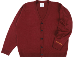 Aninew Lettering Cardigan