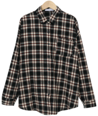 Tone check loose shirts_C