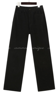 MOROS NAPPING WIDE COTTON PANTS