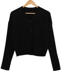 Gel Knit Exhaust Cardigan