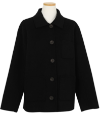 Roche wool coat (70% wool/2color)