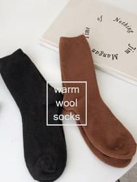Simple Wool Sox
