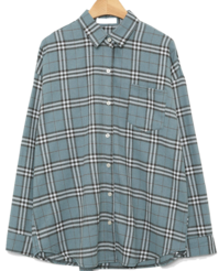 retro check basic shirts (4colors)